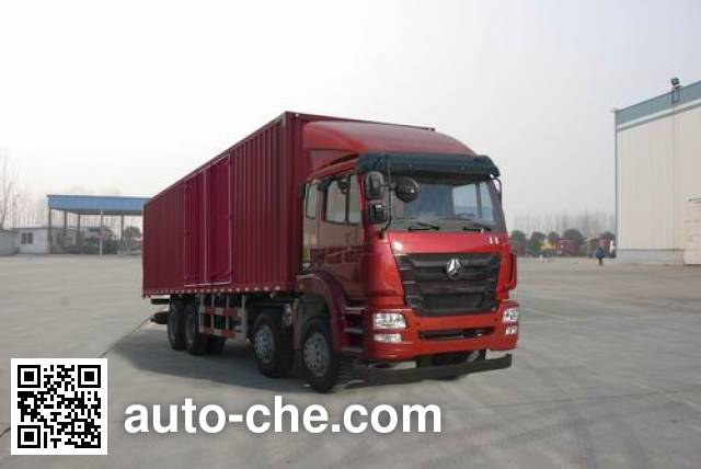 Sinotruk Hohan box van truck ZZ5315XXYN4663D1