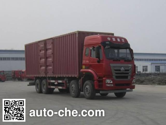Sinotruk Hohan box van truck ZZ5315XXYN4666E1