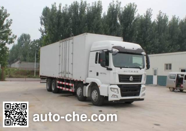 Sinotruk Sitrak box van truck ZZ5316XXYN466GE1