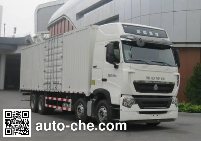 Sinotruk Howo box van truck ZZ5317XXYN466NE1