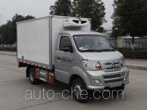 Sinotruk CDW Wangpai refrigerated truck CDW5030XLCN2M5D