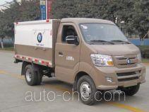 Sealed garbage container truck Sinotruk CDW Wangpai