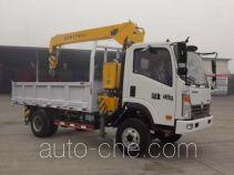 Sinotruk CDW Wangpai truck mounted loader crane CDW5040JSQA3Q4