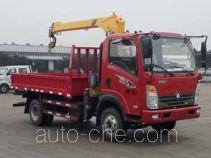 Sinotruk CDW Wangpai truck mounted loader crane CDW5040JSQHA1R5