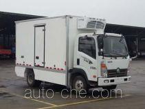 Sinotruk CDW Wangpai electric refrigerated truck CDW5070XLCH2PEV