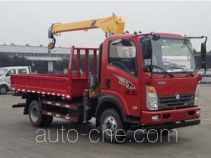 Sinotruk CDW Wangpai truck mounted loader crane CDW5110JSQHA2R5