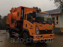 Sinotruk CDW Wangpai concrete pump truck CDW5110THBHA2R5