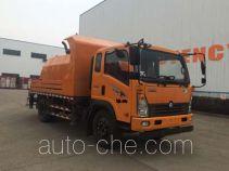 Sinotruk CDW Wangpai concrete pump truck CDW5111THBHA2R5