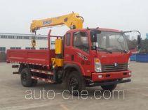 Sinotruk CDW Wangpai truck mounted loader crane CDW5121JSQHA2R4