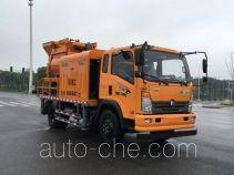 Sinotruk CDW Wangpai truck mounted concrete pump CDW5140THBA2R5