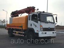 Sinotruk CDW Wangpai concrete spraying truck CDW5160TPJA1R5