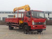 Sinotruk CDW Wangpai truck mounted loader crane CDW5162JSQA1R5
