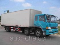 Insulated box van truck