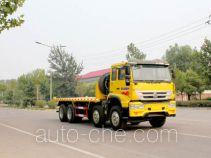 Yuanyi flatbed dump truck JHL3312P