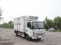 Electric refrigerated truck