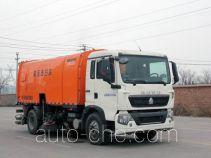 Yuanyi street sweeper truck JHL5160TXS