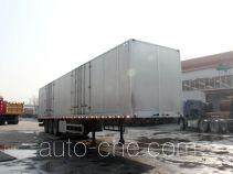 Yuanyi aluminium box van trailer JHL9400XXY