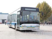 Huanghe plug-in hybrid city bus JK6129GHEVN52