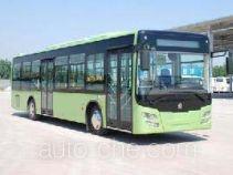 Huanghe hybrid city bus JK6129GPHEV