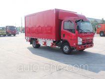 Luye box van truck JYJ5100XXYD