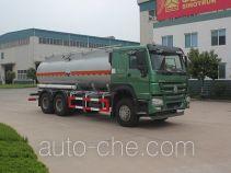 Luye corrosive substance transport tank truck JYJ5257GFWD