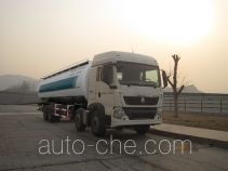 Luye low-density bulk powder transport tank truck JYJ5317GFLD