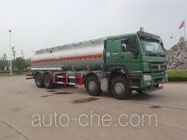 Luye corrosive substance transport tank truck JYJ5317GFWD