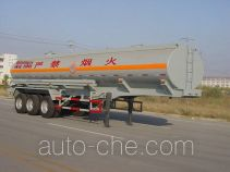 Luye chemical liquid tank trailer JYJ9350GHY