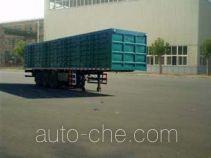 Jizhong box body van trailer JZ9391XXY