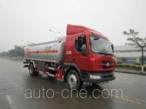 Yunli fuel tank truck LG5160GJYC4