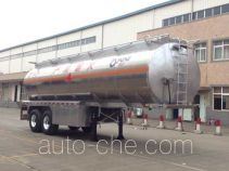 Yunli aluminium oil tank trailer LG9352GYY