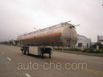 Yunli aluminium oil tank trailer LG9353GYY