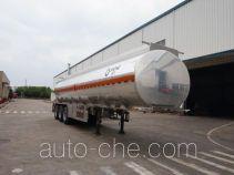 Yunli flammable liquid aluminum tank trailer LG9401GRY