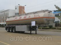 Yunli chemical liquid tank trailer LG9403GHY
