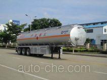 Yunli aluminium oil tank trailer LG9408GYY