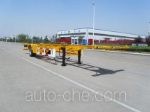 Yutian empty container transport trailer LHJ9101TJZ