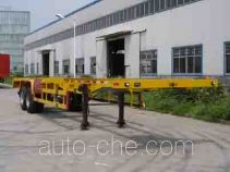 Yutian container transport trailer LHJ9350TJZG