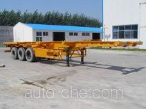 Shiyun container transport trailer MT9370TJZ