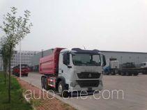 Qingzhuan dump garbage truck QDZ5250ZLJZHT7M38