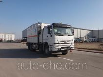 Qingzhuan ammonuim nitrate and fuel oil (ANFO) on-site mixing heavy truck QDZ5310THZZH38D1B