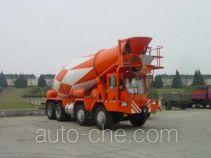 Qingzhuan front discharge concrete mixer truck QDZ5312GJBQ