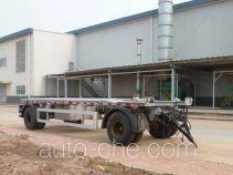 Detachable body garbage drawbar trailer