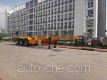 Qingzhuan container transport trailer QDZ9400TJZ