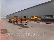 Qingzhuan container transport trailer QDZ9401TJZ