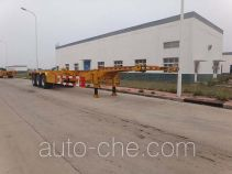 Qingzhuan container transport trailer QDZ9402TJZ