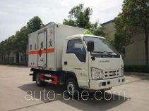 Sinotruk Huawin flammable gas transport van truck SGZ5038XRQBJ4