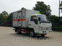 Sinotruk Huawin flammable liquid transport van truck SGZ5038XRYBJ4