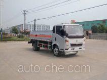 Sinotruk Huawin flammable liquid tank truck SGZ5040GRYZZ3W