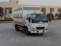 Sinotruk Huawin corrosive goods transport van truck SGZ5048XFWJX4