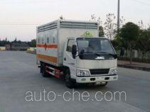 Sinotruk Huawin flammable solid goods transport van truck SGZ5048XRGJX4